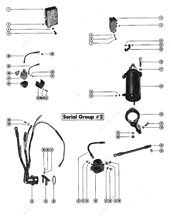 mercury 850 outboard wiring diagram mercury 150 outboard wiring diagram mercury/mariner 850 4 cyl., starter motor and wiring ...