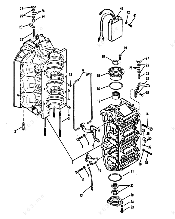 mariner 9 outboard motor diagram  mariner  free engine